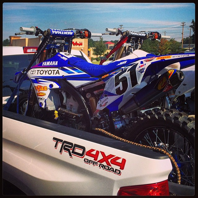 FIRST PHOTO OF  JUSTIN'S BARCIA NEW YAMAHA