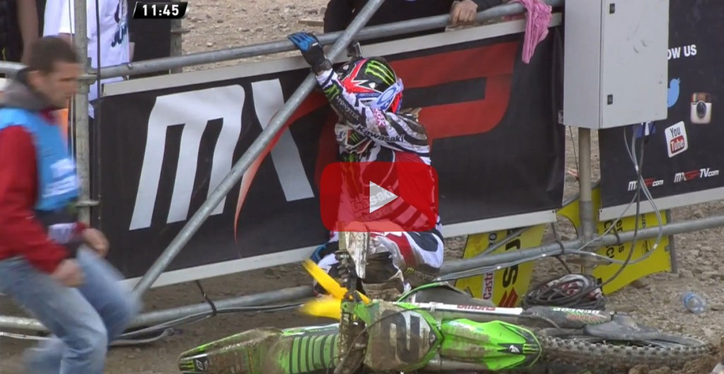 Ryan Villopoto Crash